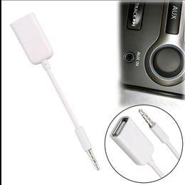 2019 kabelheber usb mp3 2018 heißer 3,5mm Stecker AUX Audio Stecker Jack USB 2.0 Buchse Kabel Kabel Auto MP3 günstig kabelheber usb mp3