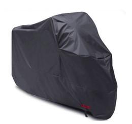 Loghi del motore online-180T Copri Moto Impermeabile Nero Argento Motore Solare Protezione Antipolvere Prevenzione Multi Colore OEM LOGO XL XXL XXXL Tigre di poliestere