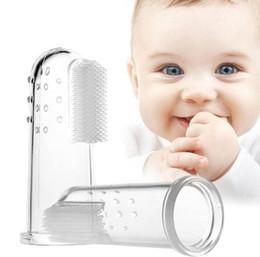 Argentina Mordedor bebé montessori cepillo de dientes silicona niños completo niño niña cuidado niños dientes nick claro masaje suave silicona dedo supplier massages toothbrush Suministro