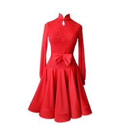 Trajes de salsa para crianças on-line-Vestido de dança latina meninas mulheres samba trajes de dança roupas para salsa vestidos de dança de salão para o miúdo prática latina desgaste