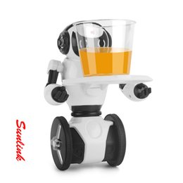Wholesale Christmas Presents For Kids - Robot Toy Balance RC WIFI Camera Intelligent Balance RC wheel robot Original For Children Kids Christmas Gift Present
