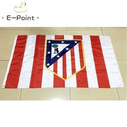 Wholesale Netherlands Gifts - Spain Club Atletico de Madrid S.A.D 3*5ft (96cm*144cm) Polyester flag Banner Netherlands decoration flying home & garden flag Festive gifts