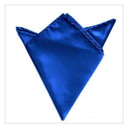 Hot Sale Fashion Luxury Accessories Men Fashion Wedding Party Kerchief Sold Color Pocket Square Handkerchief Party Wedding Kerchief da piume rosa pavone fornitori