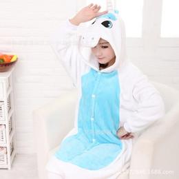 2019 ropa de dormir totoro Pijamas de franela de las mujeres dinosaurio animal Lácteo Totoro Stitch Unicorn cosplay ropa de dormir grueso para las mujeres Lady Nightwear ropa de dormir totoro baratos