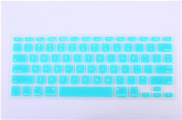 2019 macbook pro 15 2018 colorido laptop soft silicone keybo protetor tampa da pele para macbook pro air retina 11 12 13 15 17 à prova d 'água à prova de poeira macbook pro 15 barato