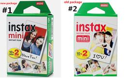 Wholesale wholesale polaroid film - Newest Instax White Film Intax For Mini 90 8 25 7S 50s Polaroid Instant Camera DHL free
