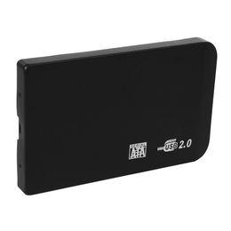 Deutschland Elisona Shockproof 2,5 Zoll SATA HD Box USB 2.0 HDD Festplattenlaufwerk SATA External Storage Gehäuse Case Cover mit Tasche cheap external hard drive pouches Versorgung