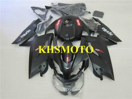 rs carenado Rebajas Kit de carenado del molde de inyección para Aprilia RS125 06 07 08 09 10 11 RS 125 2006 2011 Conjunto de carenados negro mate AA05