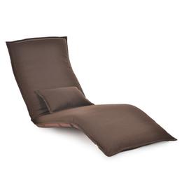 Móveis ajustáveis on-line-Japonês Espreguiçadeira Cadeira de Sala de estar Piso de Móveis Ajustável Dobrável Estofado Dobrável Preguiçoso Espreguiçadeira Sofá Cama