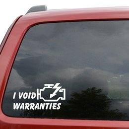void stickers UK - Car Styling For I Void Warranties JDM Vinyl Decal Sticker Car Window Truck Decor