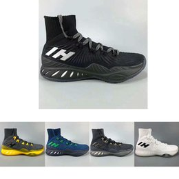 Wholesale roll up shoes - Designer Brand Mens Basketball Shoes Fashion Classic Outdoor Sport Sneakers Comfortable Socks shoes TPU Roll Cage sole