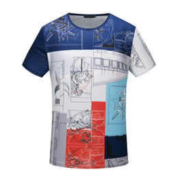 Wholesale Xl Project - 2018 new fashion Summer luxury Brand tshirt designer Projects single medusa Print letter color Men casual women t-shirt shirts tee top