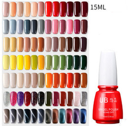 Wholesale Long Red Nails - NEW ARRIVAL NAIL ART SET 6 COLORS = 1 SET colorful and long-lasting UV gel free shipping