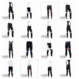 Wholesale giant cycling pants - Giant team Thermal Fleece jersey (bib)2018 New Hot autumn cycling pants bike riding suit silicone trousers bicycle bike jersey A42729