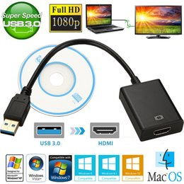 USB 3.0 HDMI Ses Video Adaptörü Dönüştürücü Kablosu Için Windows 7/8/10 PC 1080 P nereden