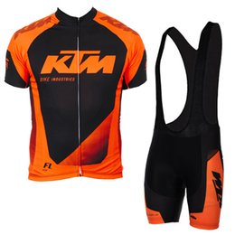 41e8dd33754 2018 KTM Mens Cycling Jersey Set Summer Mtb Bike Clothing Bicycle Short  Sleeves shirts 3D Bib Shorts Suit Maillot Ciclismo Sportswear F2740