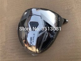 Wholesale Ems Golf Clubs - VickyG Golf Honma TW737 Driver 450CC Golf Driver Clubs 9.5 10.5 Degrees R S Flex Graphite Shaft With Cover EMS Free Shipping