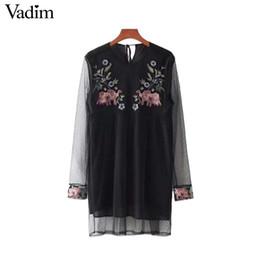 Kleid schwarz transparente armel
