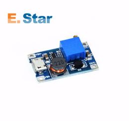 Wholesale 5v boost - 1pcs DC-DC Adjustable Boost Module 2A Boost Plate Step Up Module with MICRO USB 2V-24V to 5V 9V 12V 28V MT3608