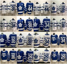 a6bd6180a42 Toronto Maple Leafs 91 John Tavares A patch 34 Auston Matthews 16 Mitchell  Marner 29 william nylander 44 Morgan Rielly hockey Jersey