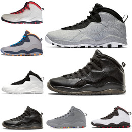 2019 sapatos drake 10 10 Westbrook Cool Cinza Estou de volta homens tênis de basquete Drake Bobcats Stealth mens Esportes Tênis Ao Ar Livre designer sapatos tamanho EUA 8-13 sapatos drake barato