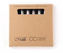 Wholesale makeup cc - 6pcs set Pro Makeup Concealer CC Trimming Pencil Face Care Beauty Cosmetics Concealer Pen Automatic Rotation