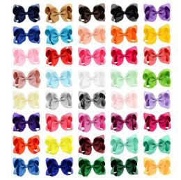 40 Farben 6in Mode Baby Band Bogen Haarnadel Clips Mädchen Große Bowknot Barrette Kinder Haar Boutique Bögen Kinder Haarschmuck großhandel von Fabrikanten