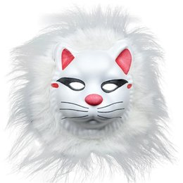 face mask animal for kid Coupons - Funny Animal Mask For Kids Cute Fluffy Animal Halloween Masks For Birthday Party Children's Costume Party Random Delivery
