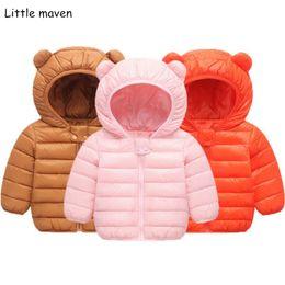 4c8585cb81f Маленькие maven детские зимние куртки дети вниз Parkas детская куртка для девочек  мальчиков куртка верхняя одежда толстовки теплое пальто 1814