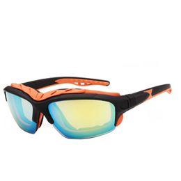 Wholesale Polarized Ski Sunglasses - Mens Waterproof Outdoor UV400 Sunglasses High Quality Colors Mixed Driving Ski Pilot Sport PC Eyewear Sale Free Shipping