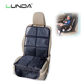 Wholesale Cotton Auto Seat Covers - LUNDA OXFORD Luxury Car Seat Protector,Child or Baby Auto Seat Protector Mat,Protection For Car Seats,Black Leather