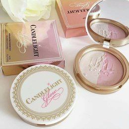 """Wholesale fa shipping - newest makeup High Quality Too Fa Candlelight Glow Highlighting Powder Duo """"rosy glow""""""""warm glow"""" 0.35oz dropshipping free shipping"""