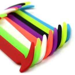 12шт/набор силикона женщины мужчины эластичные шнурки без галстука шнурки струны бег кроссовки от