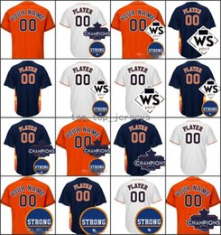 Wholesale Ivory Peacock - Hot 2017 Houston Strong WS Champions Patch 10 Yuli Gurriel 15 Carlos Beltran 43 Lance McCullers Jersey 41 Brad Peacock 27 Jose Altuve