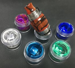 Wholesale Smok Electronic - Colorful Epoxy Resin Drip Tip And Glass Tank Cover Vape For Smok Tfv8 Tank Smok Tfv12 Prince Vaporizer Electronic Cigarette Free Shipping
