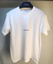 Wholesale Free Color Printing - Men T shirt Simple Letter Printed saint T Shirt Paris SLP Short Sleeve Mens Lauren tags Street Style Tops Tee Shirt free ship