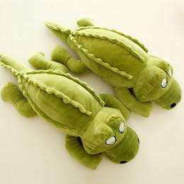 Wholesale plush alligators - cute crocodile plush pillow doll alligator toys girl sleeping pillow plush toy birthday gift 43inch 110cm