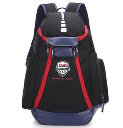 Neue art Basketball Rucksäcke New Olympic USA 2833 Team Packs Rucksack mann Taschen Große Kapazität Wasserdichte Ausbildung Reisetaschen Schuhe taschen von Fabrikanten