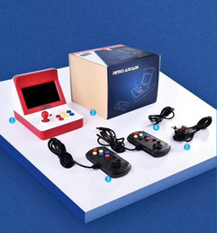 новые аркадные игры Скидка Новый ретро аркада Портативный мини портативный игровой консоли 16 ГБ 4,3 дюйма 64 бит может хранить 3000 игр семьи игровой консоли с розничной коробке 3 цвета