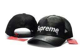 trend-hysteresen Rabatt 7 Farben Hip Hop Ball Caps für Männlich Weiblich Street Trend Hysteresenkappen Beliebte SUP Curved Baseball Caps Mesh Sonnenhut für Sommer Sport Visiere