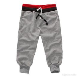 Discount harem pants crotch - Wholesale-New Special Men Pants Men's Large Size Trousers Casual Calf-Length Jogger Pants Low Crotch Harem Pants