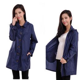 Wholesale Trench Coat Waterproof Woman - raincoat women poncho waterproof Capa De Chuva,outdoors Rain Coat Poncho Blue Trench chubasqueros mujer