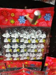 50 pezzi Snoopy New Lot cinque stili mescolano gioielli in metallo Creazione di gioielli Pendenti Regali per bambini da