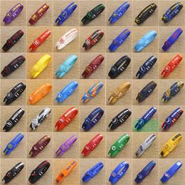 оптовая продажа кожаных браслетов Скидка Регулируемая звезда баскетбола браслет силиконовой резины спортивный браслет Kobe James подпись Шарм браслеты для любителей баскетбола 49 цветов