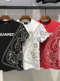 Wholesale graphic designs shirts - 2018 Italy New Top Casual Short 3D Print Men Design Graphic Shirt Cotton Tees Plain T-shirt Fashion Man Clothes Cool dt332