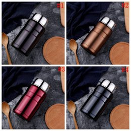 Wholesale Heated Lunch Box - Stainless Steel Thermal Cooker Bottle Cooker Pot Thermal Heat Warm Travel Bottle Vacuum Mug Lunch Box 25pcs OOA4578