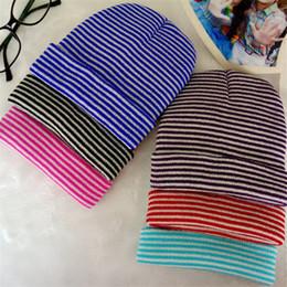 Argentina Otoño e invierno bebé cebra caliente sombrero de rayas al por mayor sombrero de punto esposado gorro de lana bebé cheap zebra hats wholesale Suministro