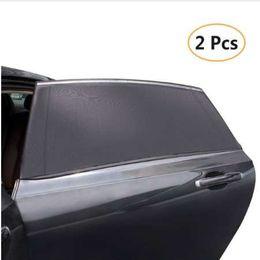 Pacotes de janelas on-line-2 Unidades / pacote Car-Styling Car Sun Sombra Tampa Da Janela Sombrinha Cortina de Proteção UV Escudo Visor de Malha De Poeira Malha de Janela Do Carro Venda Quente