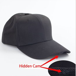 Wholesale Battery Spy Cameras - Video Recording Hidden Mini Hat Camera Spy Cap HD 1920x1080P Video Photo and Audio for 1000Mah Battery Lasts About 3 Hours
