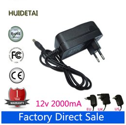 """Wholesale Quad 12v - 12V 2A Universal AC DC Power Supply Adapter Wall Charger For Teclast P98HD Quad Core 9.7"""" Tablet US UK AU UK Plug"""